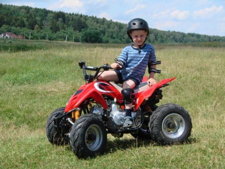 Детские квадроциклы и взрослые